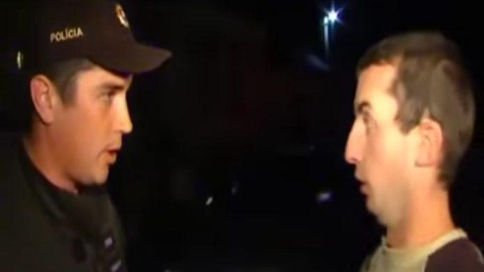 Policajt a opilec