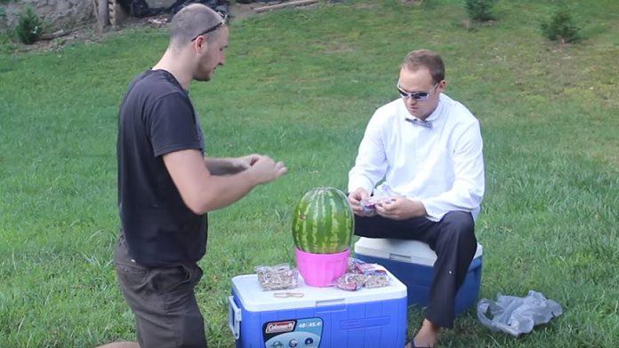 Pokus s melónom
