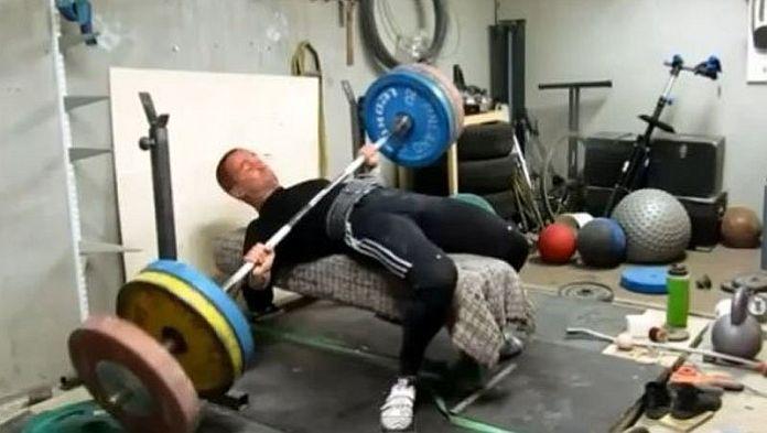 Vtipné zábery pri cvičení