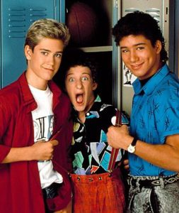 SAVED BY THE BELL, Mark-Paul Gosselaar, Dustin Diamond, Mario Lopez, 1989-1993