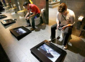 gaming-area-with-toilet-seats-474x345