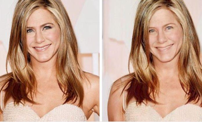 Jennifer Aniston bez make-upu