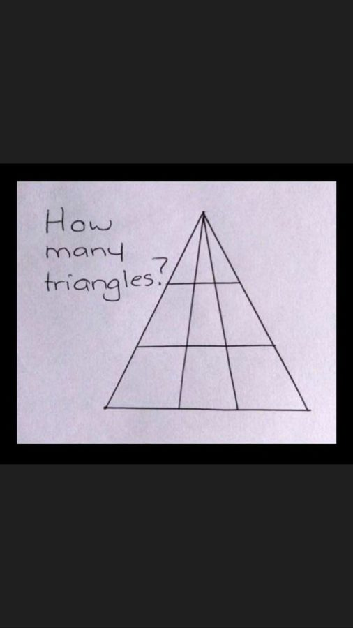 hádanka trojuholníky