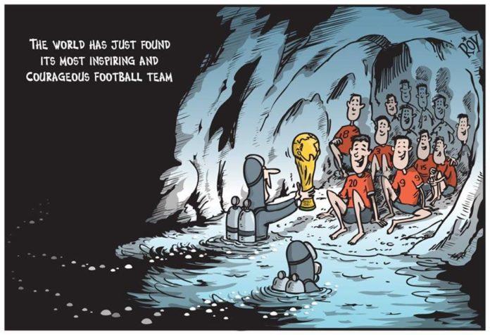 thajsko jaskyna zachrana