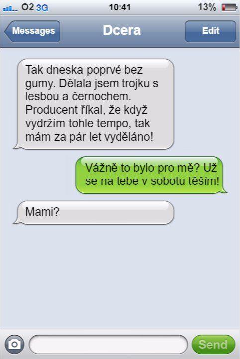 SMS -  omylom