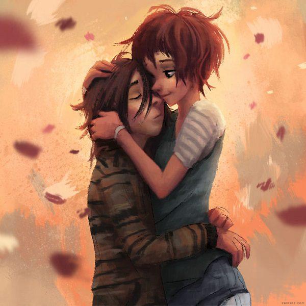 cf4141f02 Zobrazil preto najkrajšie idylické momenty medzi dvoma ľuďmi a nimi tak  demonštruje, že láska je tým najdôležitejším citom v živote.