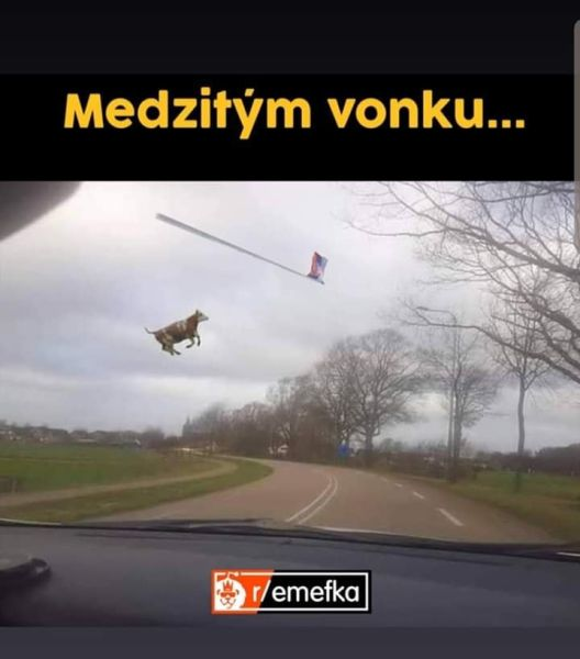 Emefka let vlajky.