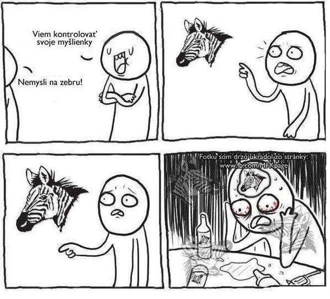 Meme zebra