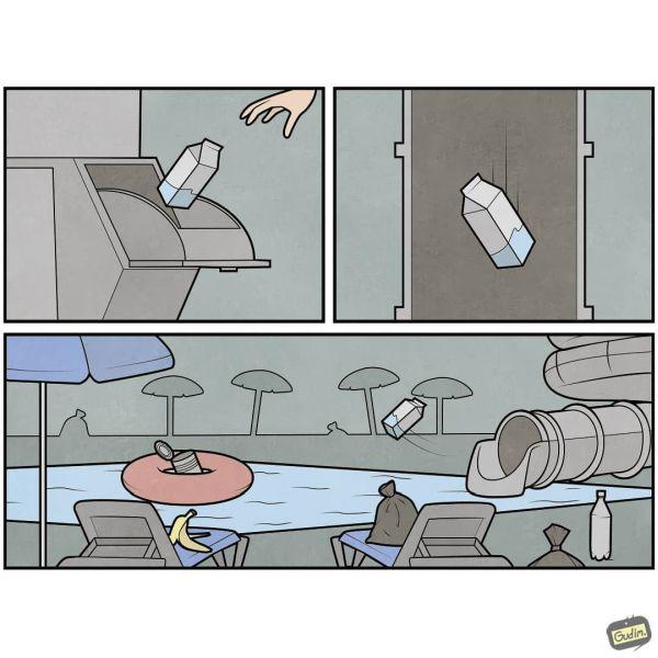 Gudim odpadky