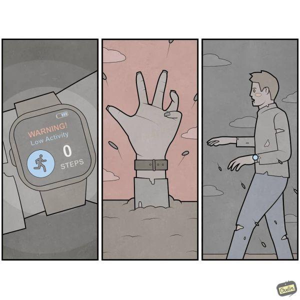 Gudim digitálny zombie
