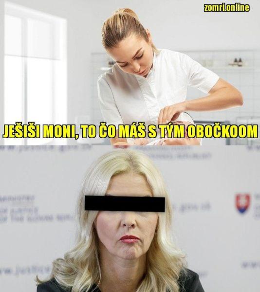 Jankovská meme obočie.