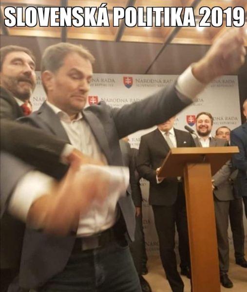 Matovič meme slovenská politika.