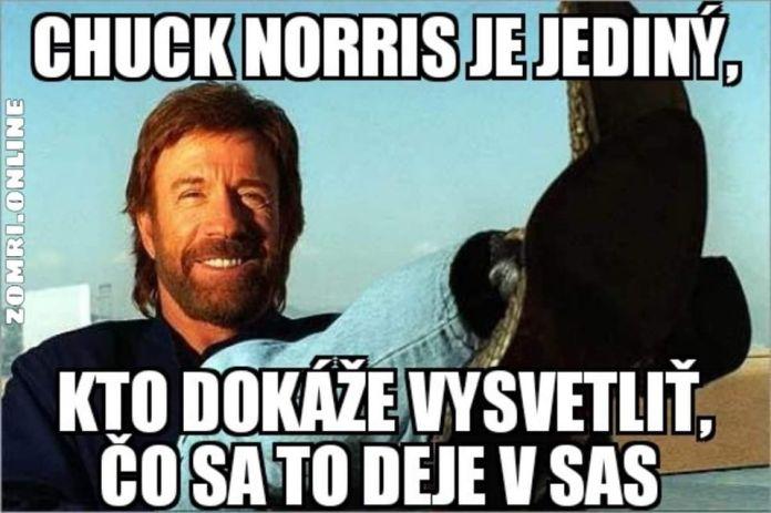 Chuck Norris a SaS.