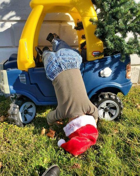 dieťa na Vianoce