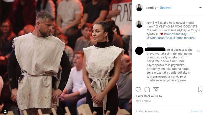 Romana nenávistné komentáre