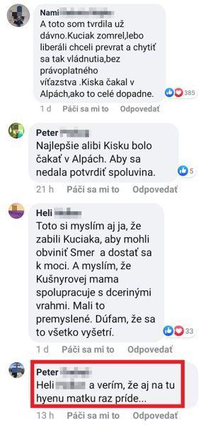 Komentáre vražda Kuciaka