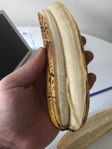 dvojitý banán