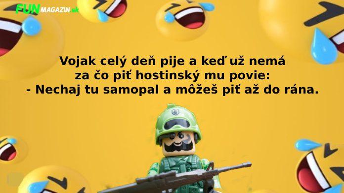 vtipy o vojakoch