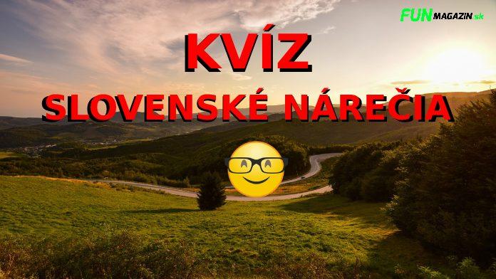 Slovenské nárečia kvíz